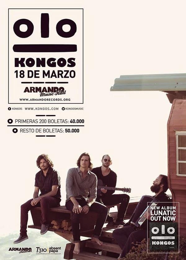 Colombia-Kongos-sensación-nuevo-rock-pop-Sur-Africa-Armando-Music-Hall