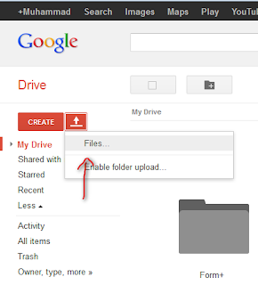 Host Javascript dan CSS di Google Drive