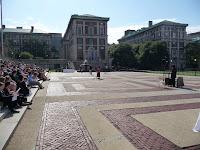 9/11 commemoration Low plaza Columbia University, 2011