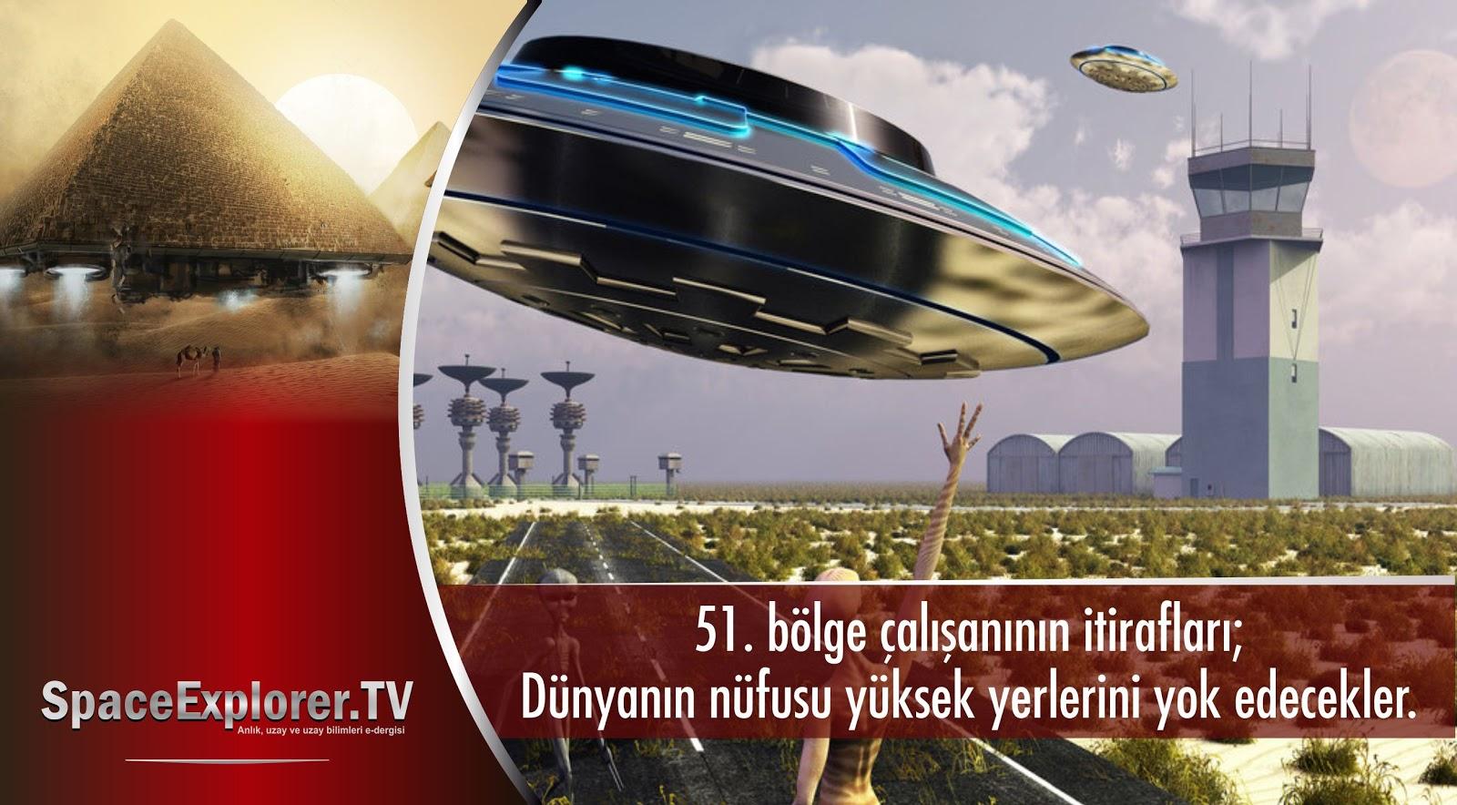 Videolar, 51. Bölge, Uzayda hayat var mı?, Evrende yalnız mıyız?, Bilim insanlarının itirafları, yer altı üsleri, Dünyada uzaylı var mı, Aramızdaki uzaylılar, Teknolojimizi uzaylılardan aldık,