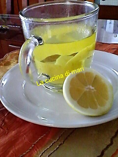 tisana canarino, al limone