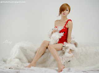 1 Choi Byeol Yee-Hot Red-very cute asian girl-girlcute4u.blogspot.com