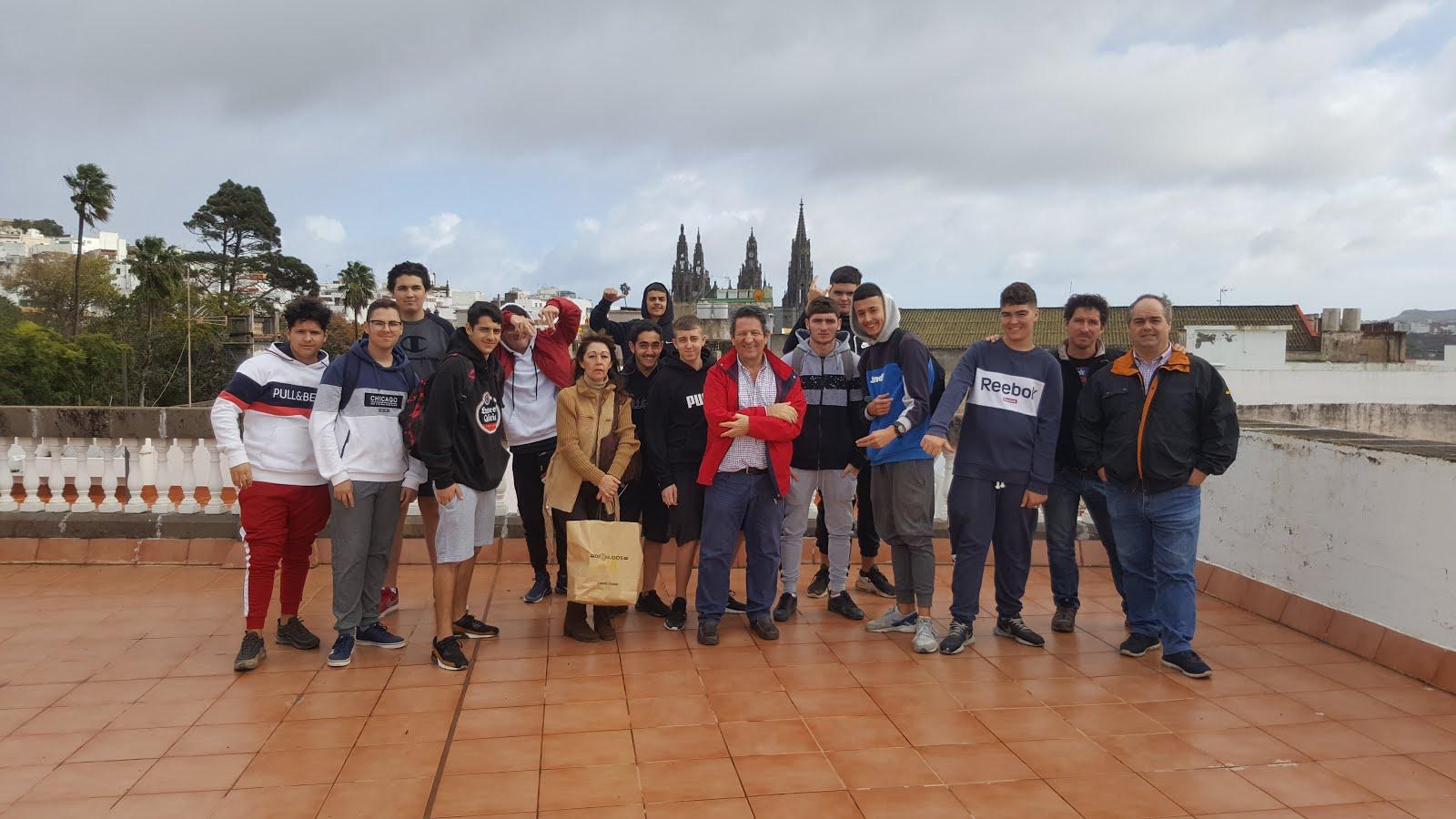 Visita de IES de Santa María de Guía
