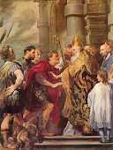 Saint Ambrose - the patron of this site