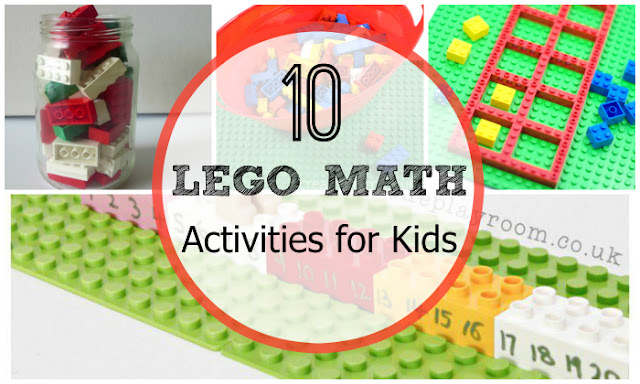 10 LEGO Math Ideas for kids