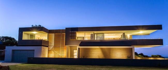 Casa moderna en dunsborough minimalistas 2015 for Casas grandes modernas
