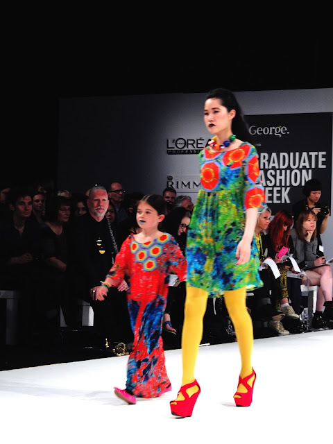 Danielle Huntley:Fashion at Arts University Bournemouth Graduate Fashion Week
