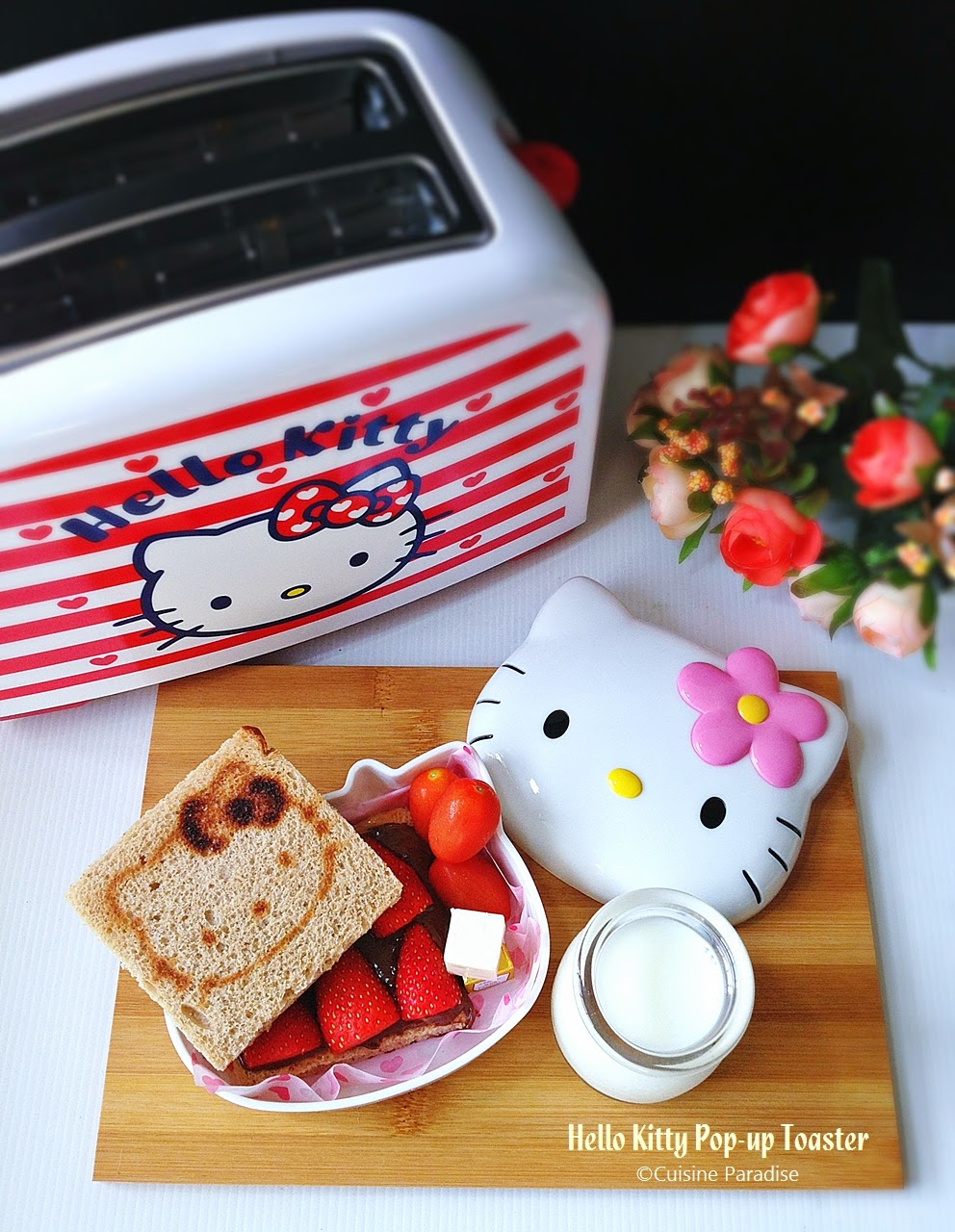 cuisine paradise singapore food blog recipes reviews and travel hello kitty brunch hello. Black Bedroom Furniture Sets. Home Design Ideas