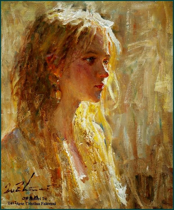 Painter Zhiwei Tu.