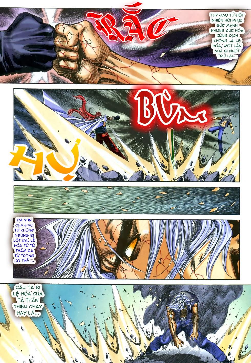X Bạo Tộc chap 68 - Trang 21