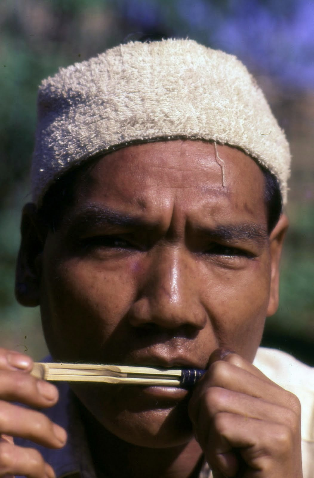Akha on Bamboo Mouth-Harp