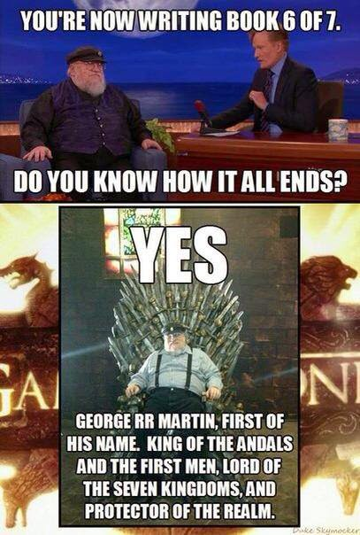 george martin meme game of thrones