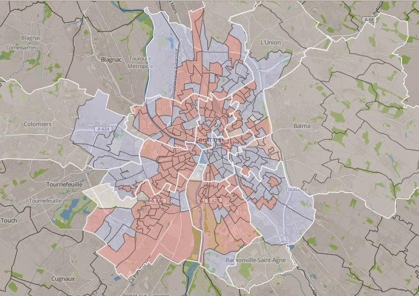 Open data Makina Corpus cartographie le vote des dpartementales