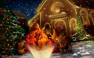 Wallpaper Kelahiran Yesus