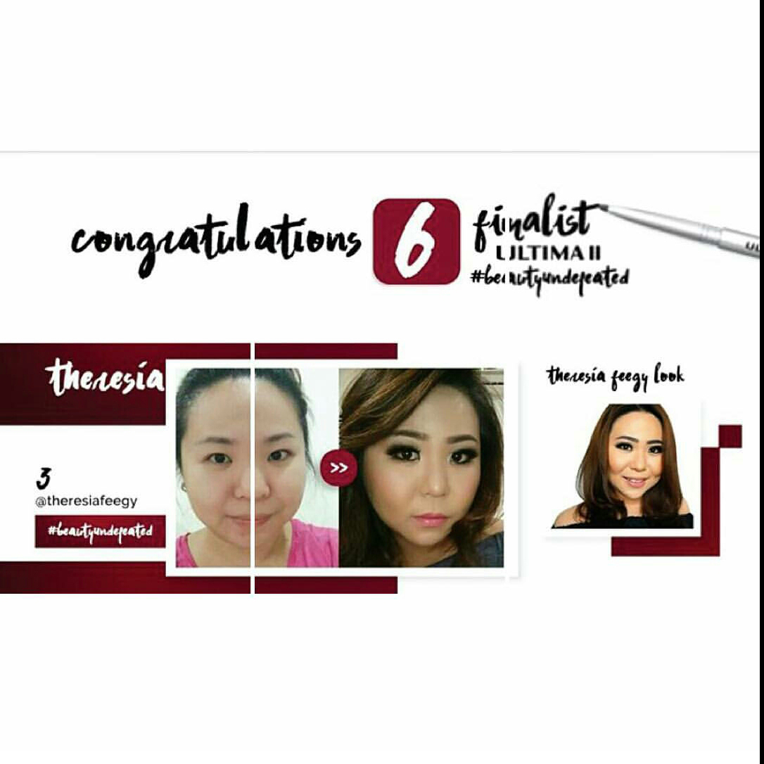 FINALIST FOR ULTIMA II BEAUTY UNDEFEATED 2016