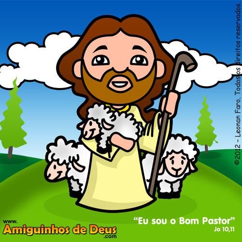 Jesus Bom Pastor desenho