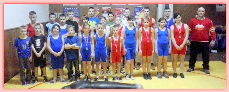 Zapaśniczy Uczniowski Klub Sportowy w Łękini