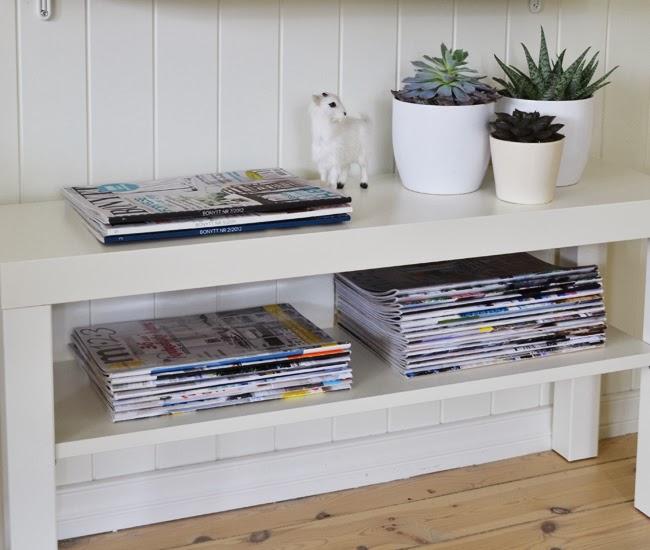 drudeblaa: En liten TV-benk fra IKEA.....
