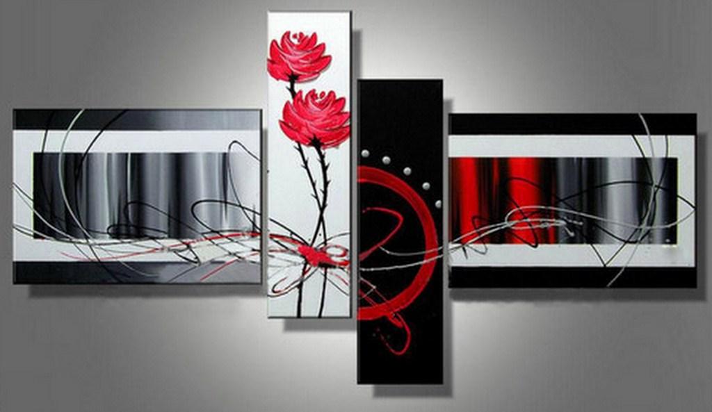 Cuadros modernos cuadros decorativos en leo for Cuadros decorativos abstractos