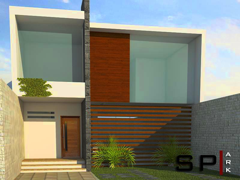 sp ark arquitectura y dise o render casa minimalista