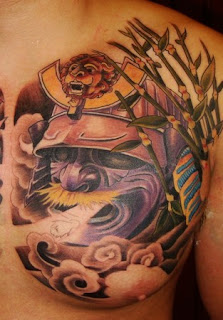 samurai tattoos meaning