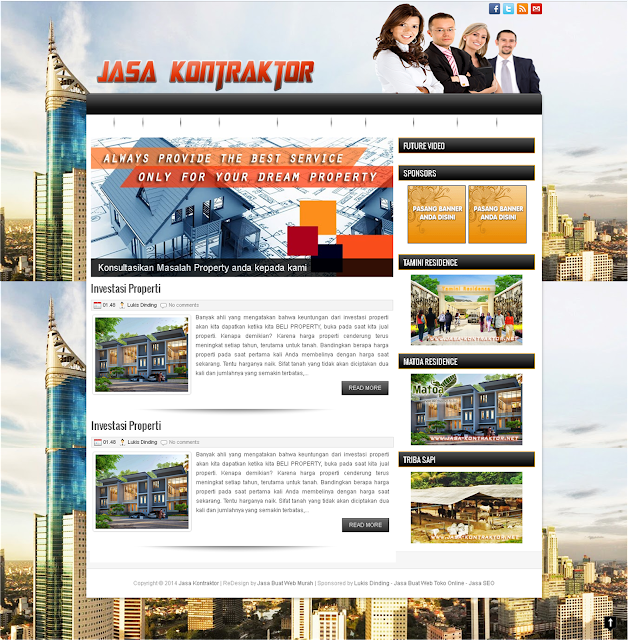 19.58 Company Profile , Contoh Website