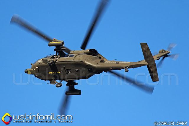 Sikorsky UH-60L Arpía III de la Fuerza Aérea Colombiana.