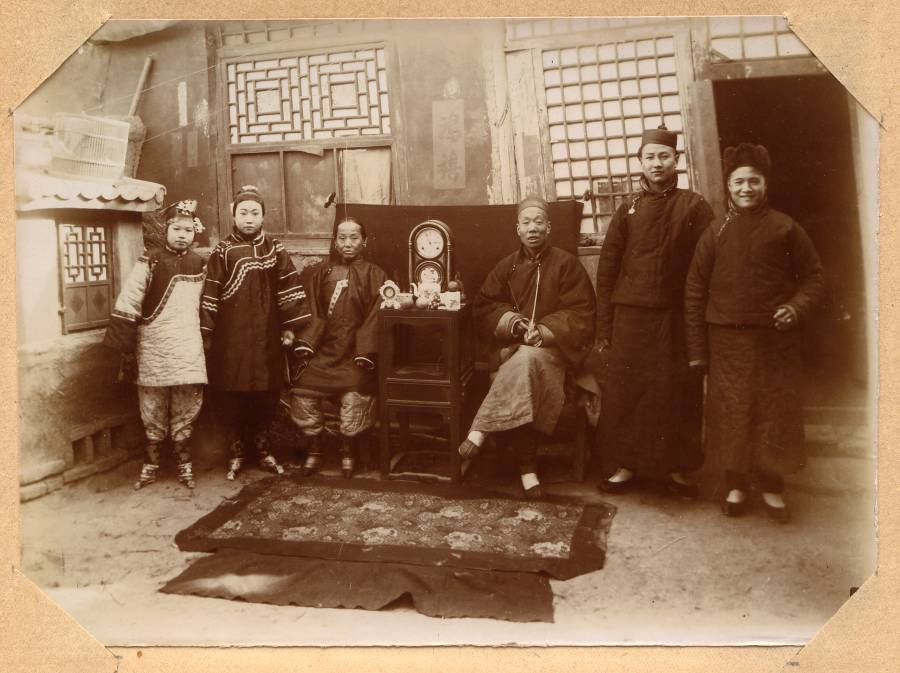 photograph from an album devoted to China