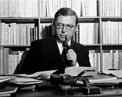 37 χρόνια από τον θάνατο τού Jean-Paul Sartre