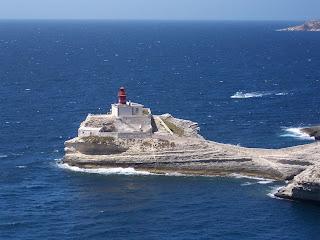 Bonifacio - star attraction in Corsica - France