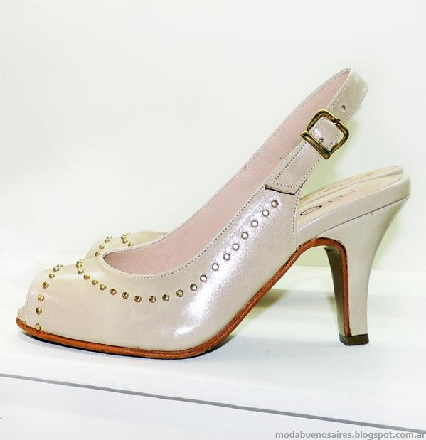 Coleccion primavera verano 2014 zapatos Alfonsa.