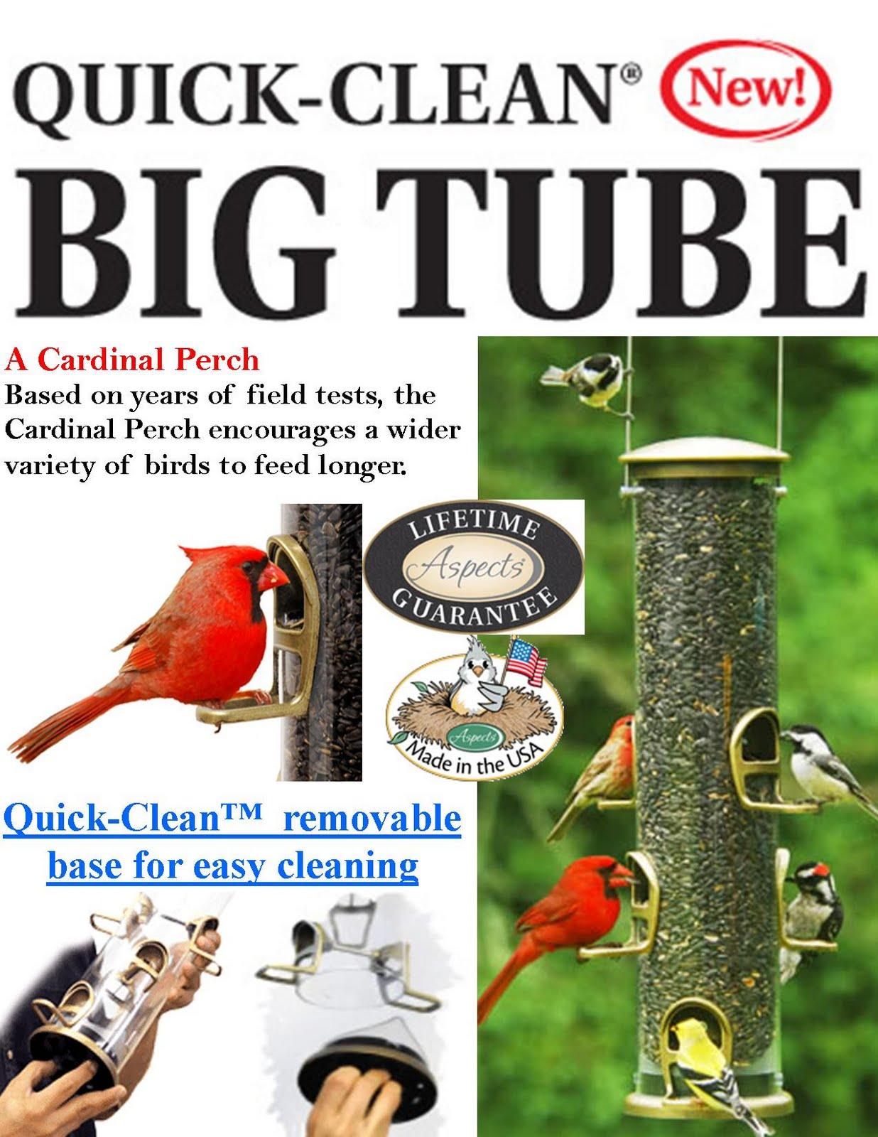 Cardinal Bird Feeders Made In The USA