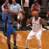 Kyle O'Quinn hits Andray Blatche in face with basketball (Video)