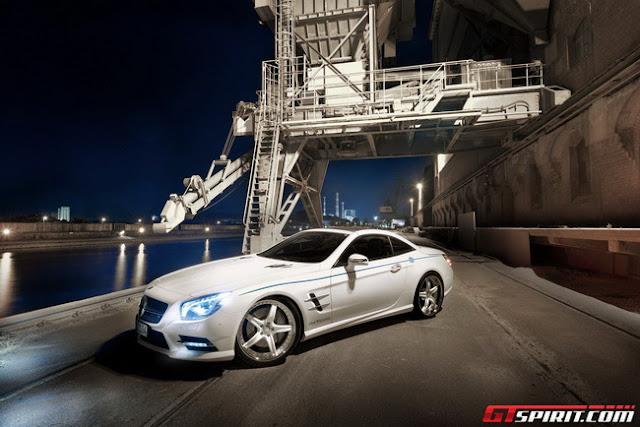 Mercedes-Benz SL500 xe độ của Graf Weckerle