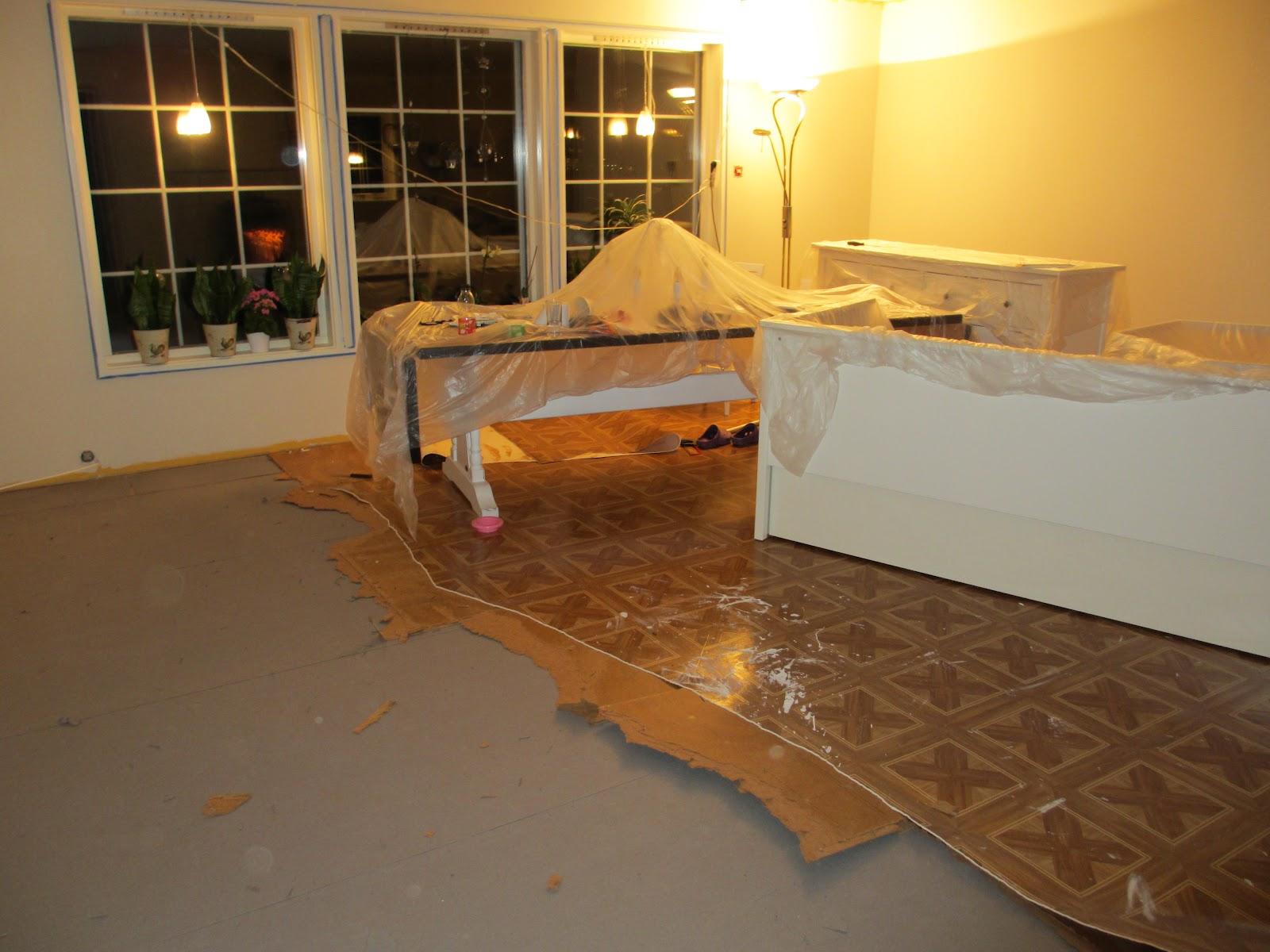 Min lille (hobby) verden...: ny stue!