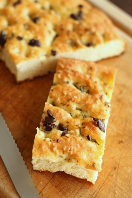 Half Baked: Rosemary and Olive Focaccia
