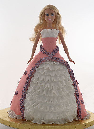 How To Make A Wooden Doll Cake Topper