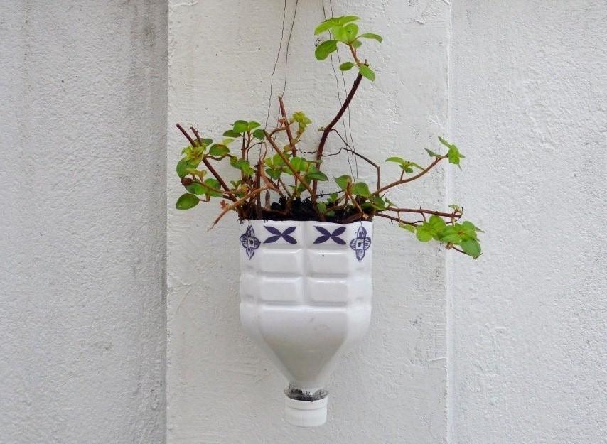 tangan vas dari kaleng bekas cara membuat kerajinan tangan dari