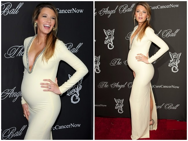 Blake Lively in Gucci 2015 Resort Gown
