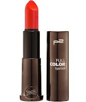 p2 Neuprodukte August 2015 - full color lipstick 010 - www.annitschkasblog.de