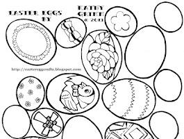 Easter Egg Craft Balloon