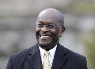 HERMAIN CAIN STILL BEATING RICK PERRY AND MITT ROMNEY IN THE POLLS?