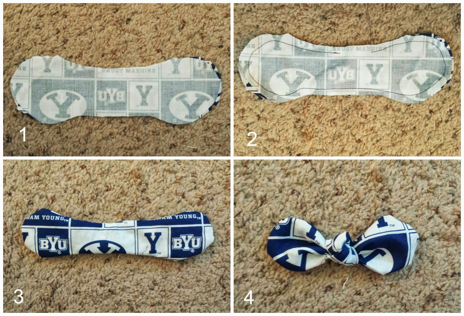 Carissa Miss: DIY Game Day Bow