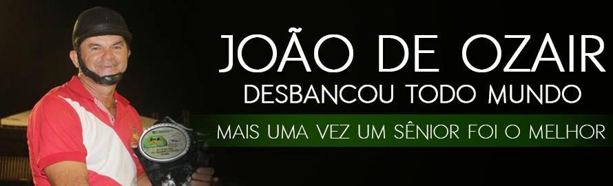 vaqueiro João de Ozair destaque da semana
