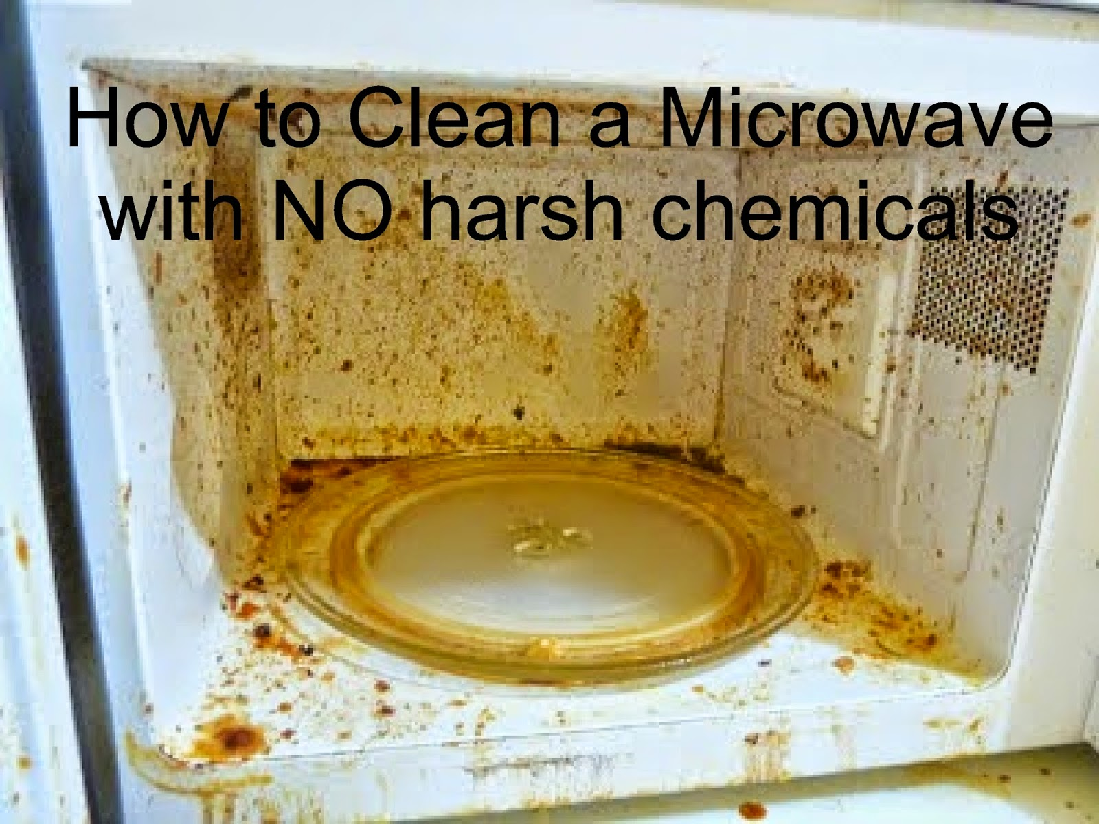 Quick N Brite Cleaning Tips How To Clean A Microwave All