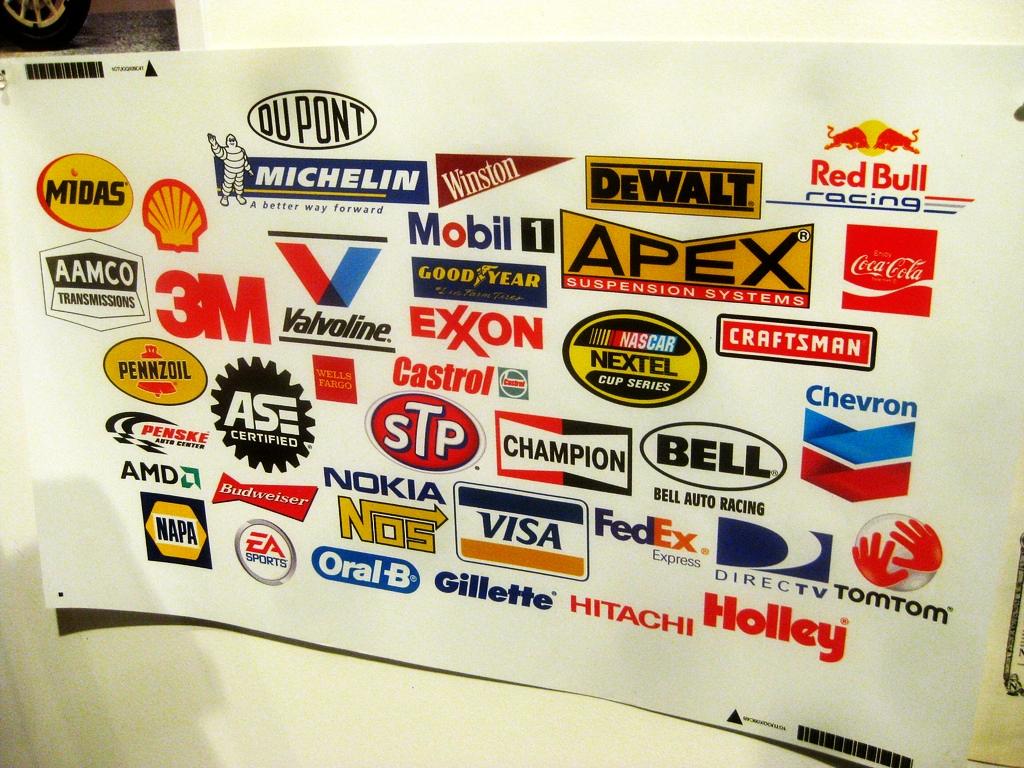 nascar sponsors logos