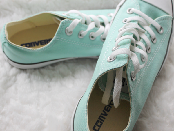 New In | Converse All Stars - Mint.
