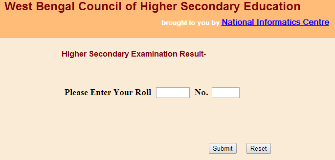 WB class 12th Result 2015