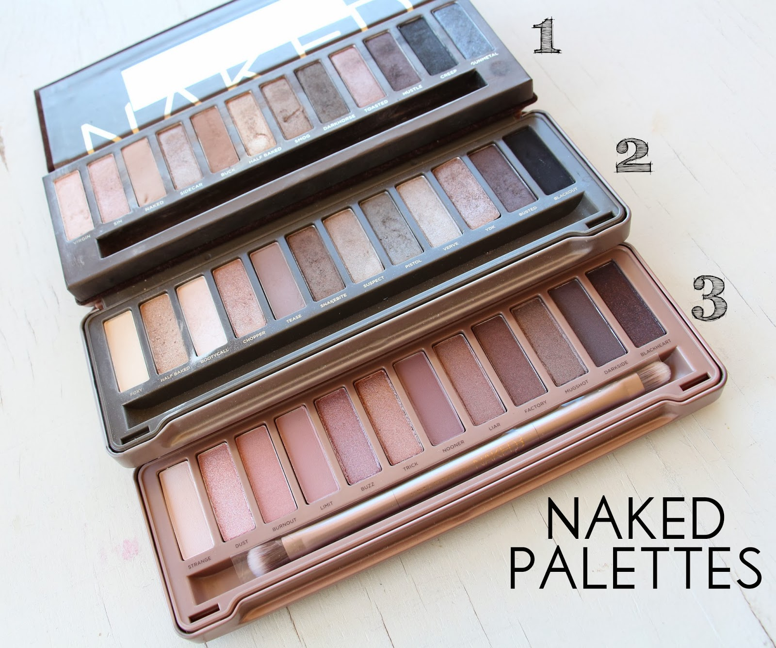 Urban Decay Naked Palettes | eye makeup ideas | Pinterest ...