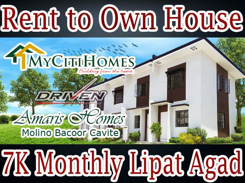 Low Cost Housing In The Philippines Amaris Homes Affordable Townhouse Near Sm Molino Bacoor